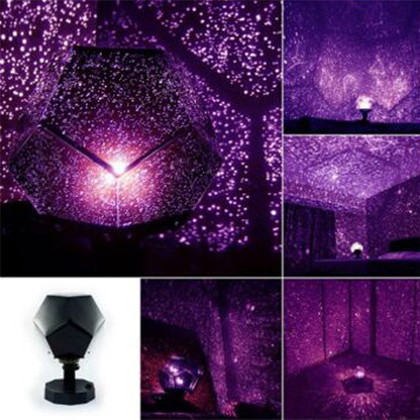 New Starry Sky Lights Projection Projector Celestial Star Cosmos Night Lamp Christmas Gift Drop shipping 70831