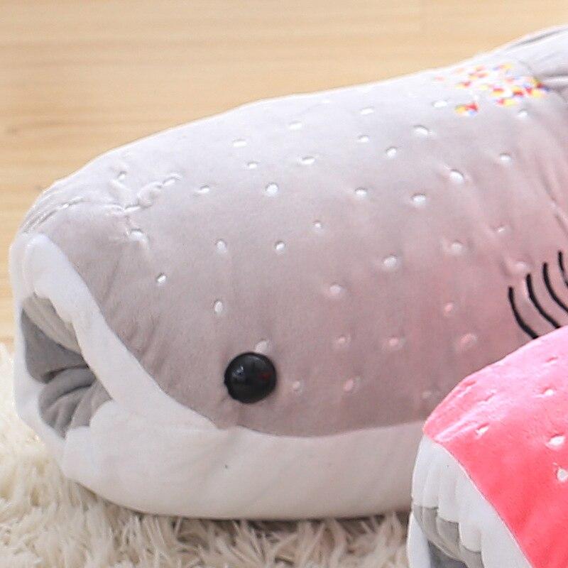 New Cute Large 1pcs 100cm Whale Shark Plush Toy Cartoon Doll Soft