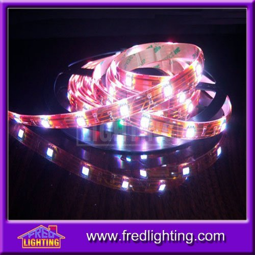 24V High Brightness 14.4W/m 60led/m RGB LED Strip 5050 Waterproof IP65 LED Strips Lighting