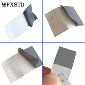 0.12mm Silicon Thermal Pad 15*15mm For LAIRD Laptop notebook Graphics memory Beiqiao CPU GPU Thermal Silica Thermal pad(China)