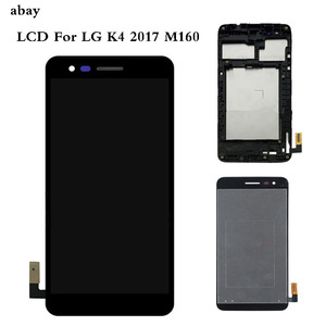 Image 1 - 5.0 For LG K4 2017 M160 M150 M151 M160e LCD Display Screen With Touch Screen Digitizer Assembly with Bezel Frame Repair Parts