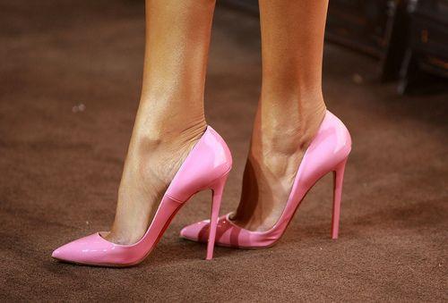 Aliexpress.com : Buy Woman multicolor fashionable heels pink rose ...