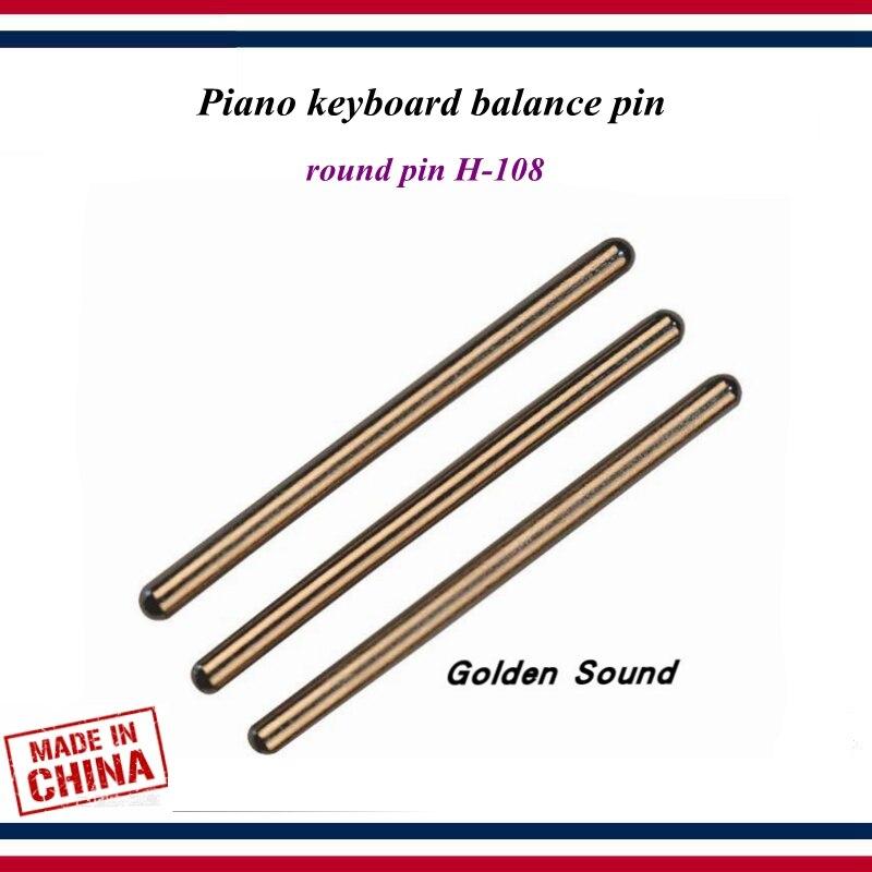 Piano Tuning Tools Accessories - 30 PCS Piano Keyboard Balance Pin , Round Pin H-108  - Piano Parts