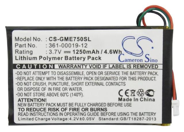 Li-Polymer Batería Para GARMIN Edge 605, 705 Nuevo