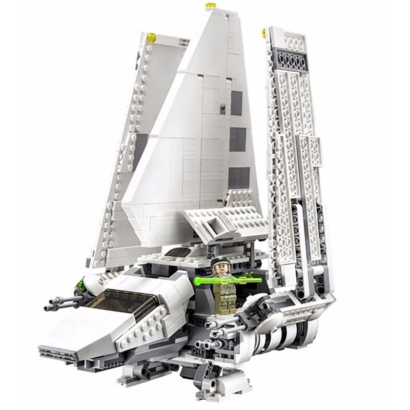 LEPIN 05034 Star Starfighter Series Imperial Shuttle Transports 10212 Building Blocks 2599pcs Bricks Toy Gift For Children new lepin 05034 2503pcs imperial shuttle model building kit blocks bricks compatible children toy gift with 10212