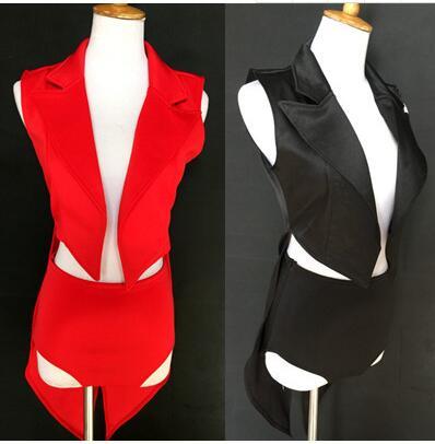 Для женщин мода Джаз Танцевальный костюм с улицы Танцы девушка Танцы труппы DS Хэллоуин  ...