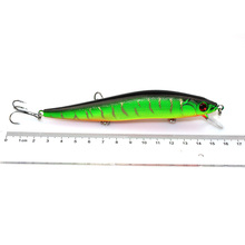 1Pcs 14cm 23g Minnow Fishing Lure Wobbler iscas artificiais para pesca Crankbait Bass 3D Eyes Hard Bait Fishing Tackle WQ251