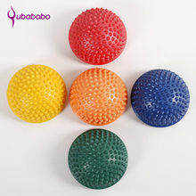 Yoga Half Ball Physical Fitness Appliance Exercise Balance Ball Gym Massage Point Stepping Stones Bosu Balance Pods Yoga Pilates