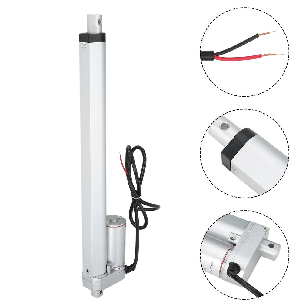 Electric Linear actuator 200mm Stroke linear motor controller dc 12V 20/150/200/250/300/350/500N linear actuator dc 12v linear actuator stroke electric motor for medical devices dc 12v 20 150 200 250 300 350 500n