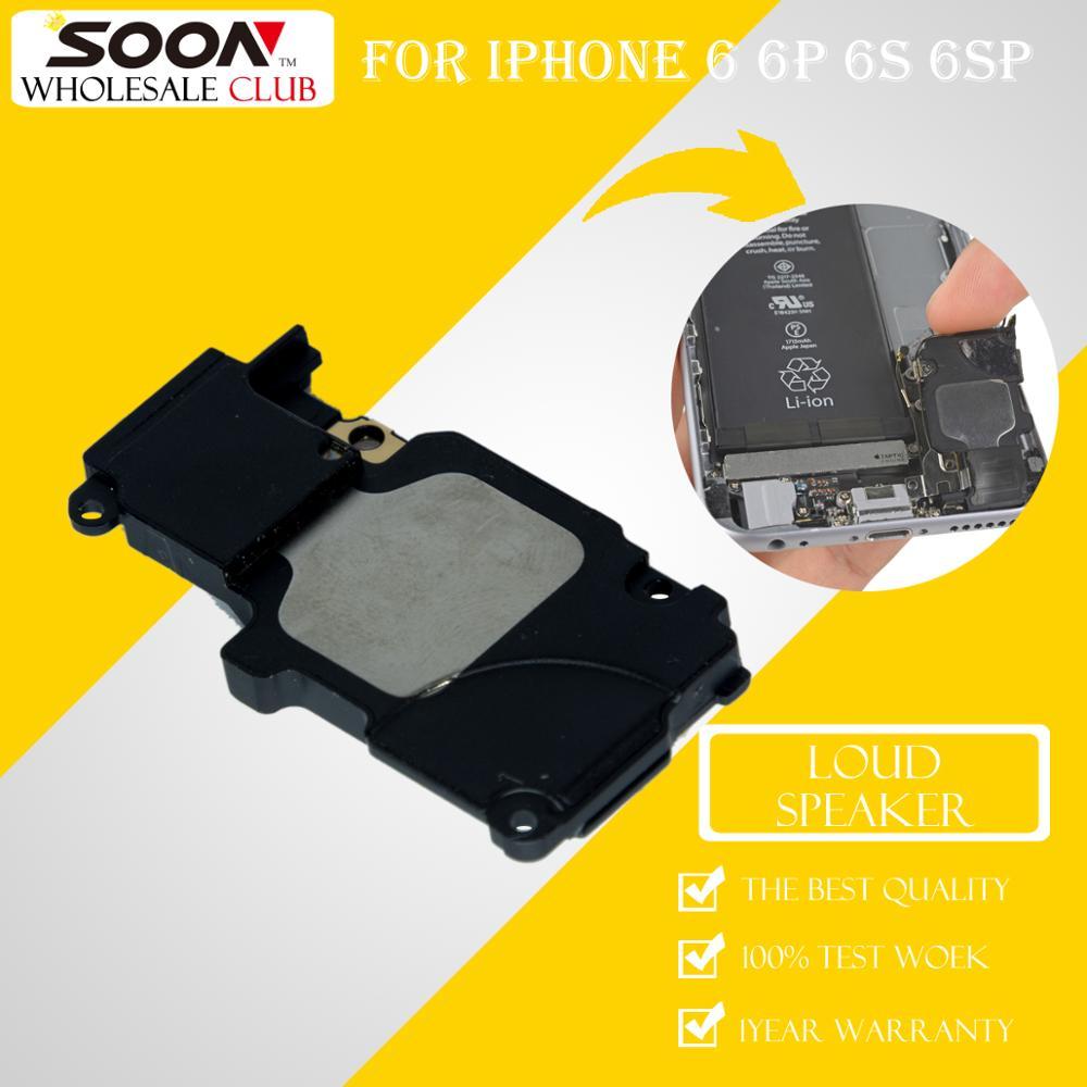 20Pcs SOON For iPhone 6 6Plus 6S 6s Plus Inner Loud Speaker Replacement Repair Parts Buzzer Ringer Module Sound Flex Cable