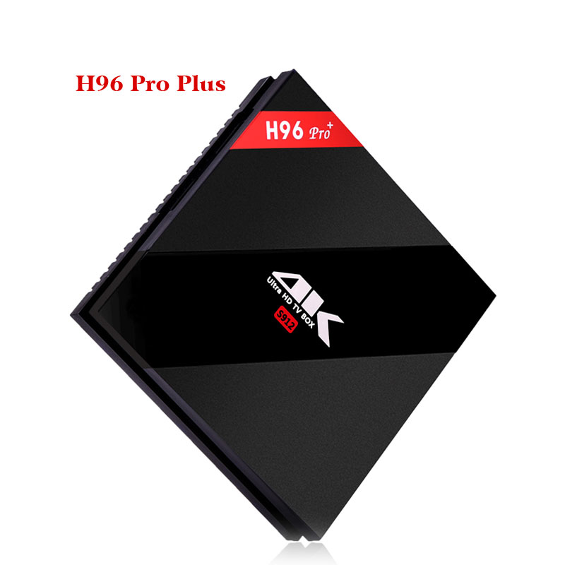 H96 Pro Plus Amlogic S912 Android TV Box 2 GB/3 GB 16 GB Octa Core 2.4G/5 GHz WIFI 4 K décodeur intelligent IP TV lecteur multimédia - 3