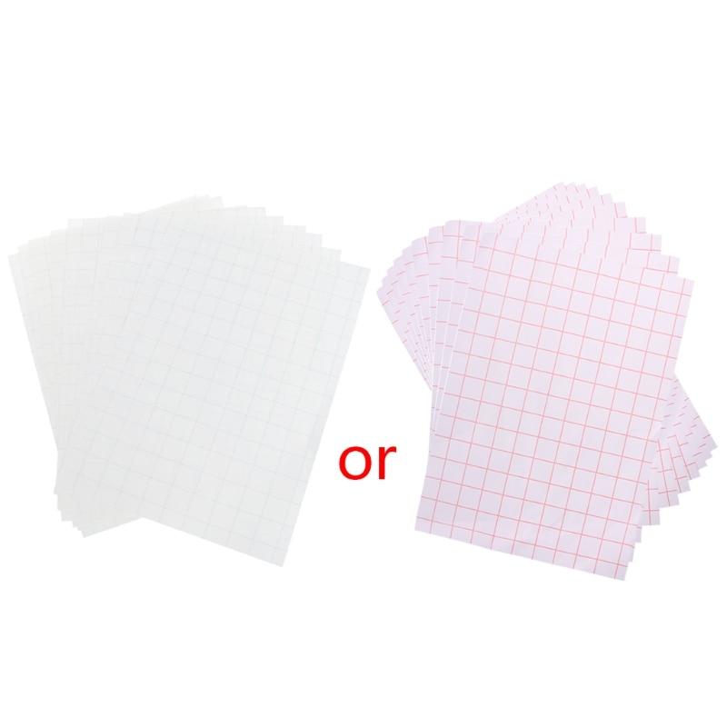 10 Sheets A4 Iron On Inkjet Print Heat Transfer Paper for DIY Craft T-shirt New teflon cover sheet 16 x16 transfer paper iron on heat