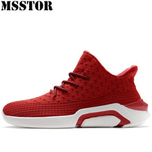 MSSTOR 2018 Men Running Shoes Man Brand Sport Shoes For Men Summer Breathable Sports Run Outdoor Athletic Jogging Mens Sneakers
