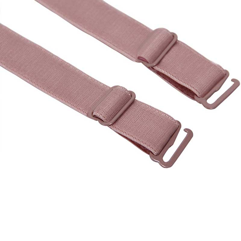New 1 Pair 34cm Slip Resistant Bra Straps Women Double Elastic Shoulder Bra Strap Accessories