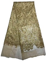 5yards Lot Beautiful Luxury African Women Embroidered Tulle Evening Dress Soft High Quality Net Lace