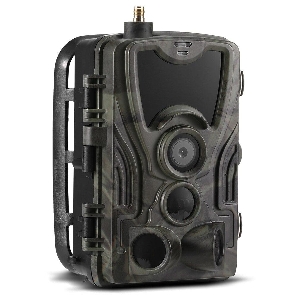 16MP 1080 P caméra extérieure de traînée de faune chasse jeu caméra Vision nocturne caméra de repérage capteur PIR infrarouge IP65 étanche