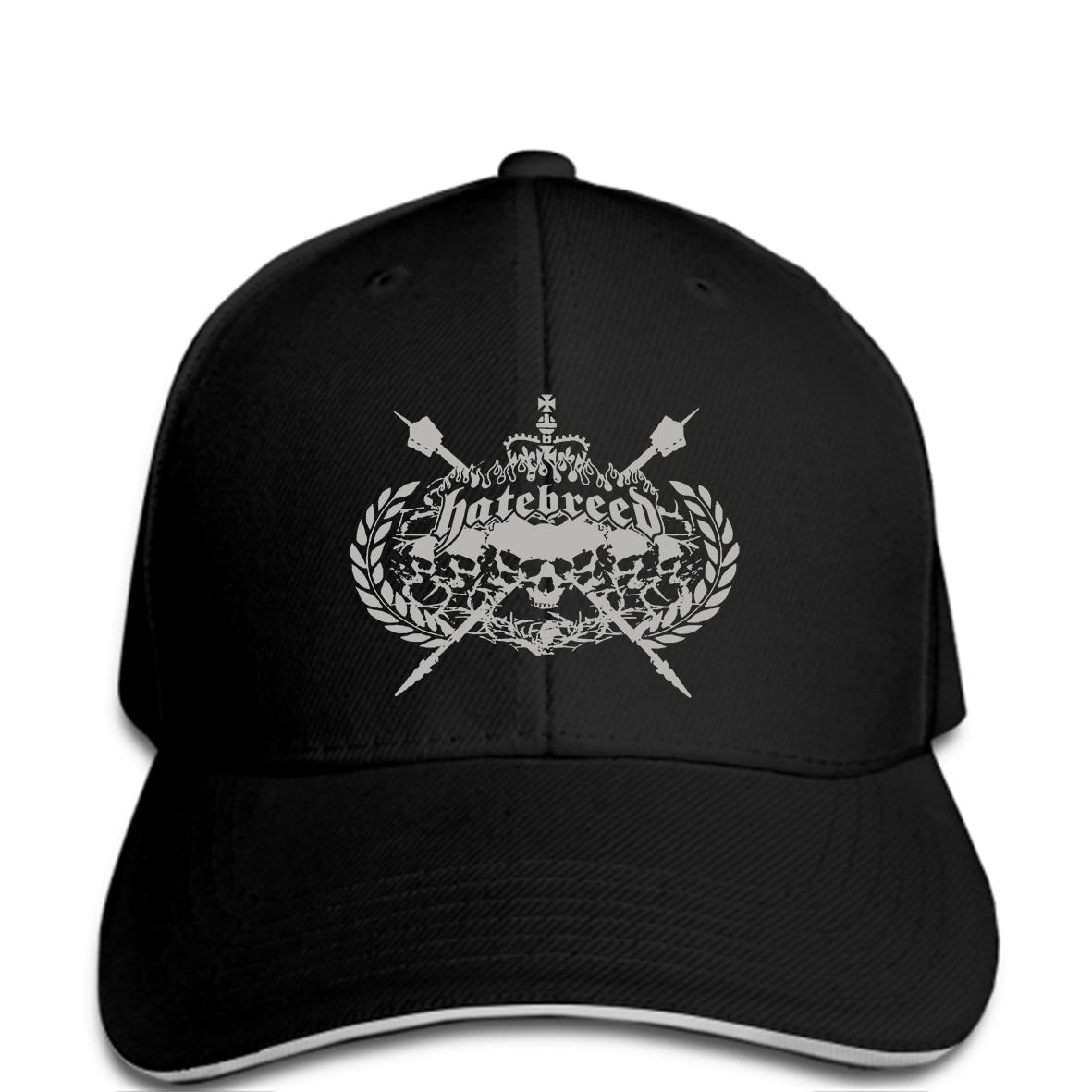Hatebreed Skull Crest Hat NEW Licensed Band Merch Novelty Cool Men Baseball cap