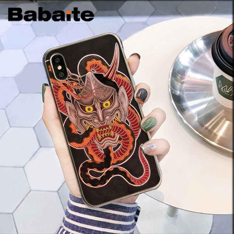 Babaite أوني قناع الفن لينة سيليكون شفاف الهاتف حقيبة لهاتف أي فون 6S 6 زائد 7 7 زائد 8 8 زائد X xs ماكس 5 5S XR