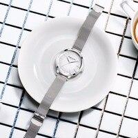Kenneth Cole Womens Часы розовое цвета: золотистый, серебристый Нержавеющаясталь браслет KC15056011 простой кварцевые Элитный бренд женские часы