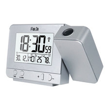 Smart Alarm Clock Projection Double Radios Indoor Temperature and Humidity FanJu FJ3531