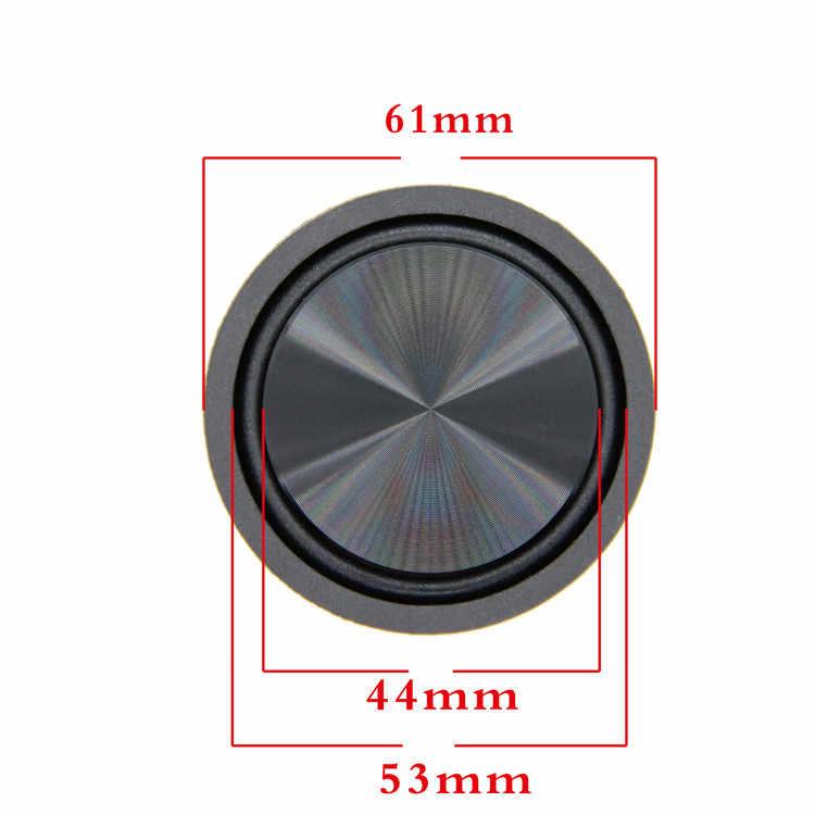 GHXAMP High-end 61 мм басовый радиатор вибрационная диафрагма алюминий + сталь пассивная пластина усиленный НЧ-динамик низкочастотный Новый 2 шт
