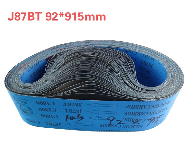 NEW 8pcs J87BT Silicon Carbide 915*92mm Abrasive Sanding Belt FOR Belt Machine