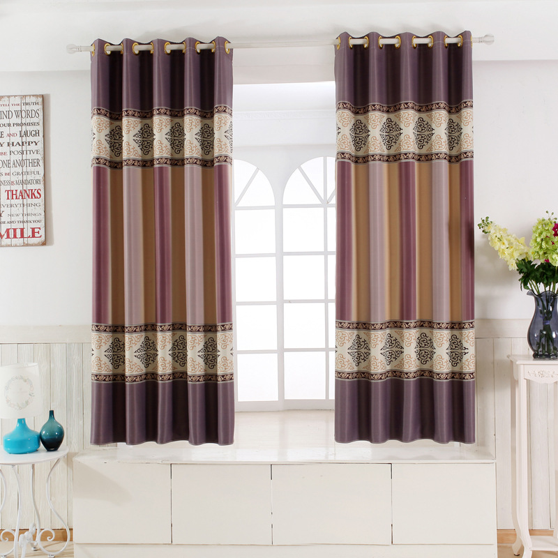 Single Panel Modern Window Curtains For Kitchen Living Room Bedroom Divider Bay Window Door