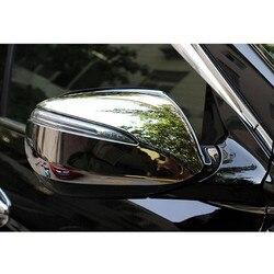 Wysokiej jakości ABS chromowana osłona lusterek bocznych do Hyundai 2013-2016 Ix45 Santafe