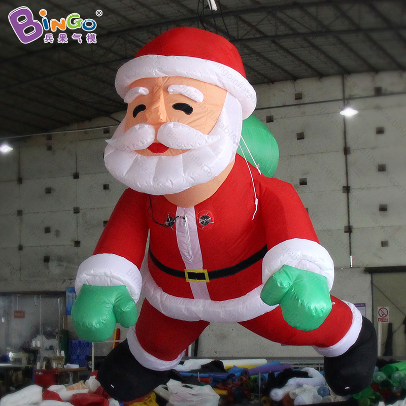 Father Christmas Images Free.Us 380 0 Free Delivery 3m Climbing Type Inflatable Santa Claus For Christmas Promotion Decorative Father Christmas For Advertising Toys In