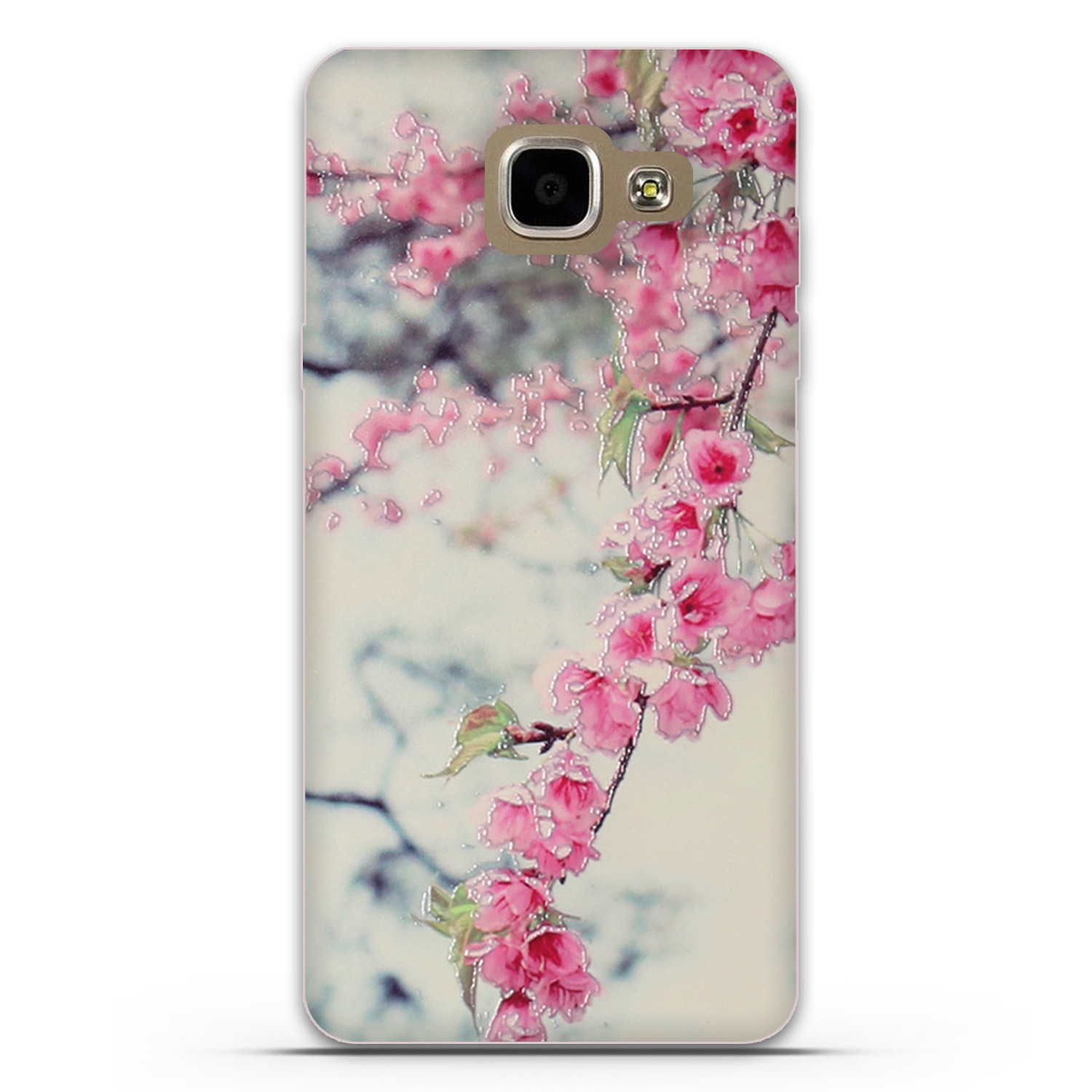 For Samsung Galaxy A7 2016 Case Covers 3D Stereo Relief Painting Back Cover for Samsung A7 A710 A710F Silicon Mobile Phone Cases