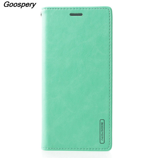finest selection ff583 ebbab US $13.32 |Mercury Goospery Case For Samsung Galaxy A8 2018 Case A530 Blue  Moon Flip Cover Wallet Cases For Samsung A8 2018 Phone Coque-in Wallet ...