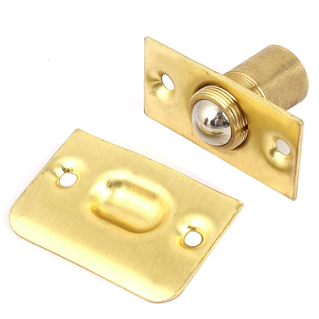 Venda quente casa armário porta parafuso ajustável primavera rolo de cobre bola pegar conjunto