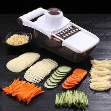 Manual Vegetable Shredder Cutter Multi-function Stainless Steel Potato Chopper Slicer Fruit Grater Shredded Slice Kitchen Gadget цена