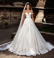 trajes de novias Wedding Dresses 2017 Sheer Sexy Appliques Princess Bridal Gowns vestidos de noiva princesa 2017 sexy