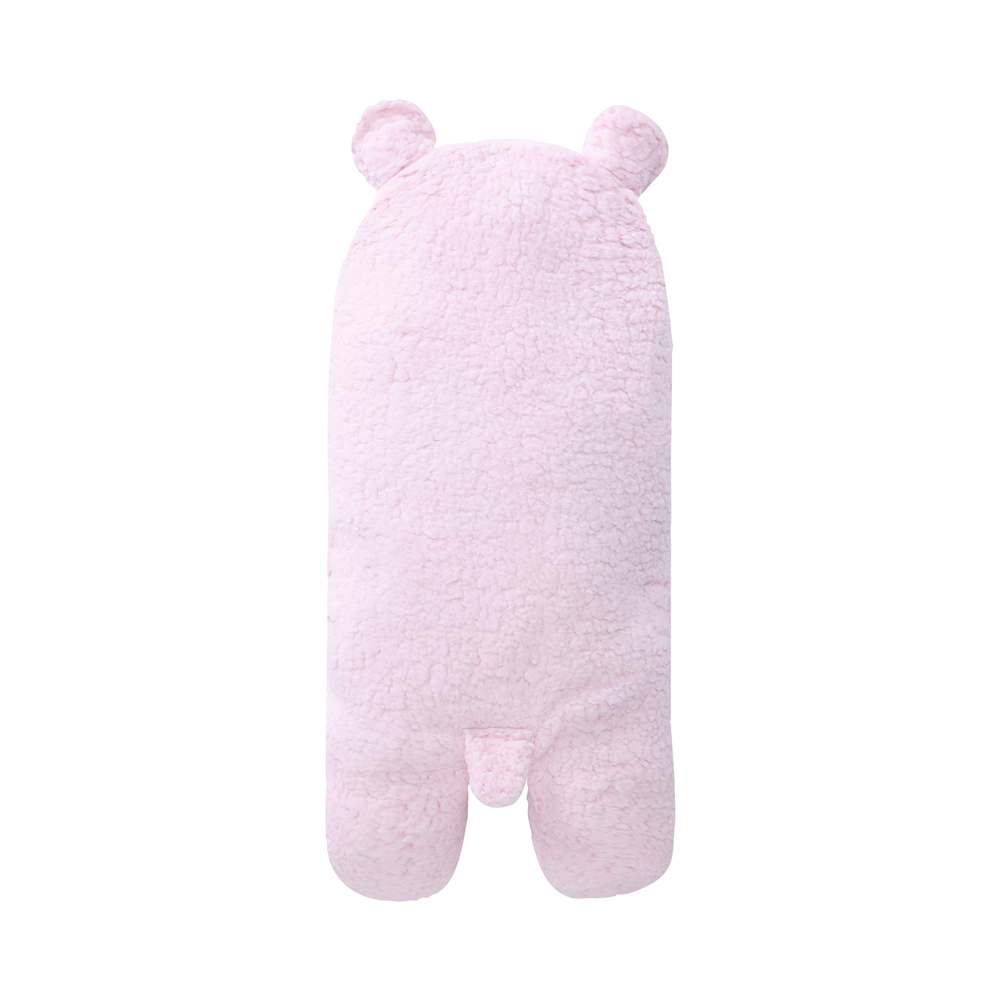 Yeedison Autumn Winter Envelope For Newborns Solid Warm Baby Sleeping Bag Coral Fleece Infant Swaddle Blanket Hooded Footmuff (6)