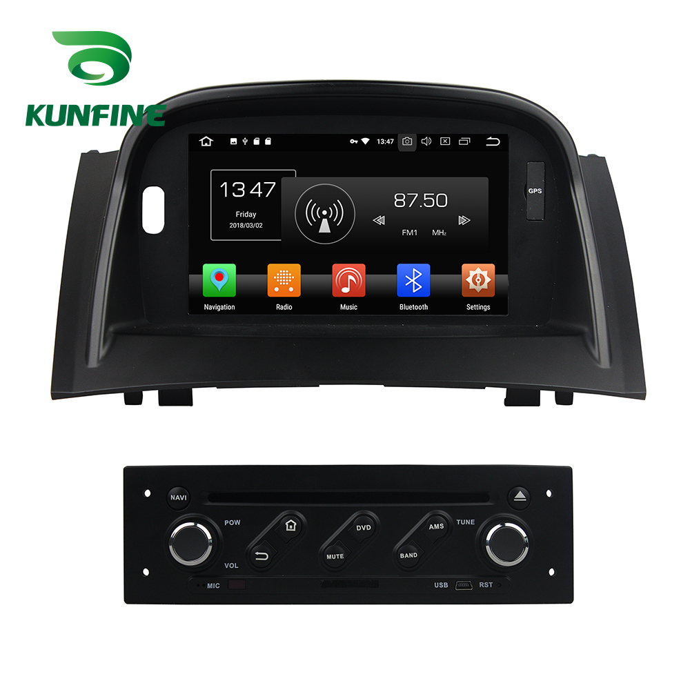 Octa Core 4GB RAM Android 8.0 Car <font><b>DVD</b></font> <font><b>GPS</b></font> Navigation Multimedia Player Car Stereo For RENAULT <font><b>Megane</b></font> II 2004-09 Radio Headunit image