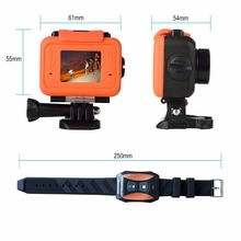 S60 Anti-Shock Sports Action Camera, 30M Waterproof Wifi 1080P Full HD 170 Degree Lens Wireless SOS flash signal