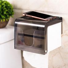 Waterproof Transparent Toilet Paper Holder Wall Mounted Tissue Rack Dispenser Storage Box kitchen paper holder