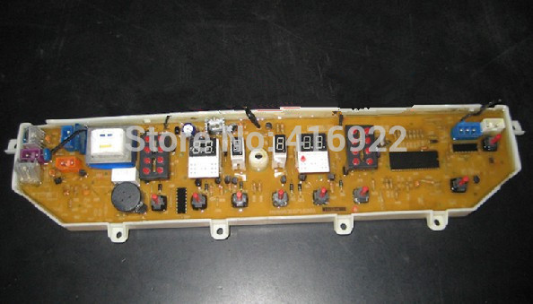 Free shipping 100% tested for  washing machine board mb5563 mb5013 motherboard on sale 100% tested for washing machine board wd n80051 6871en1015d 6870ec9099a 1 motherboard used board