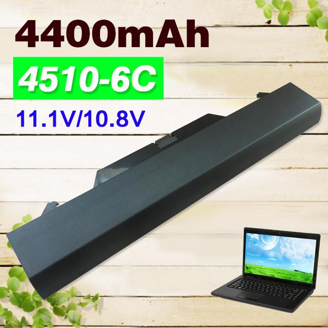 4400 mah batería para hp probook 4510 s 4710 s 4515 s 591998-141 593576-001 hstnn-xb89 nbp8a157b1 nz375aa