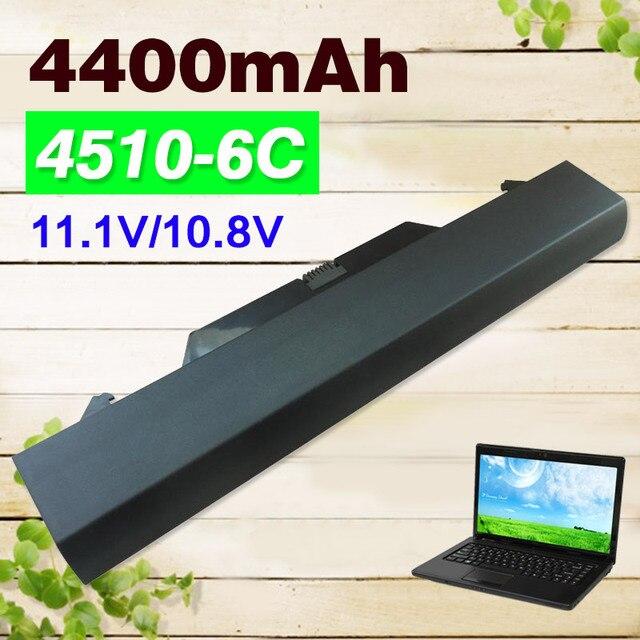 4400 mah bateria para hp probook 4510 s 4710 s 4515 s 591998-141 593576-001 hstnn-xb89 nbp8a157b1 nz375aa