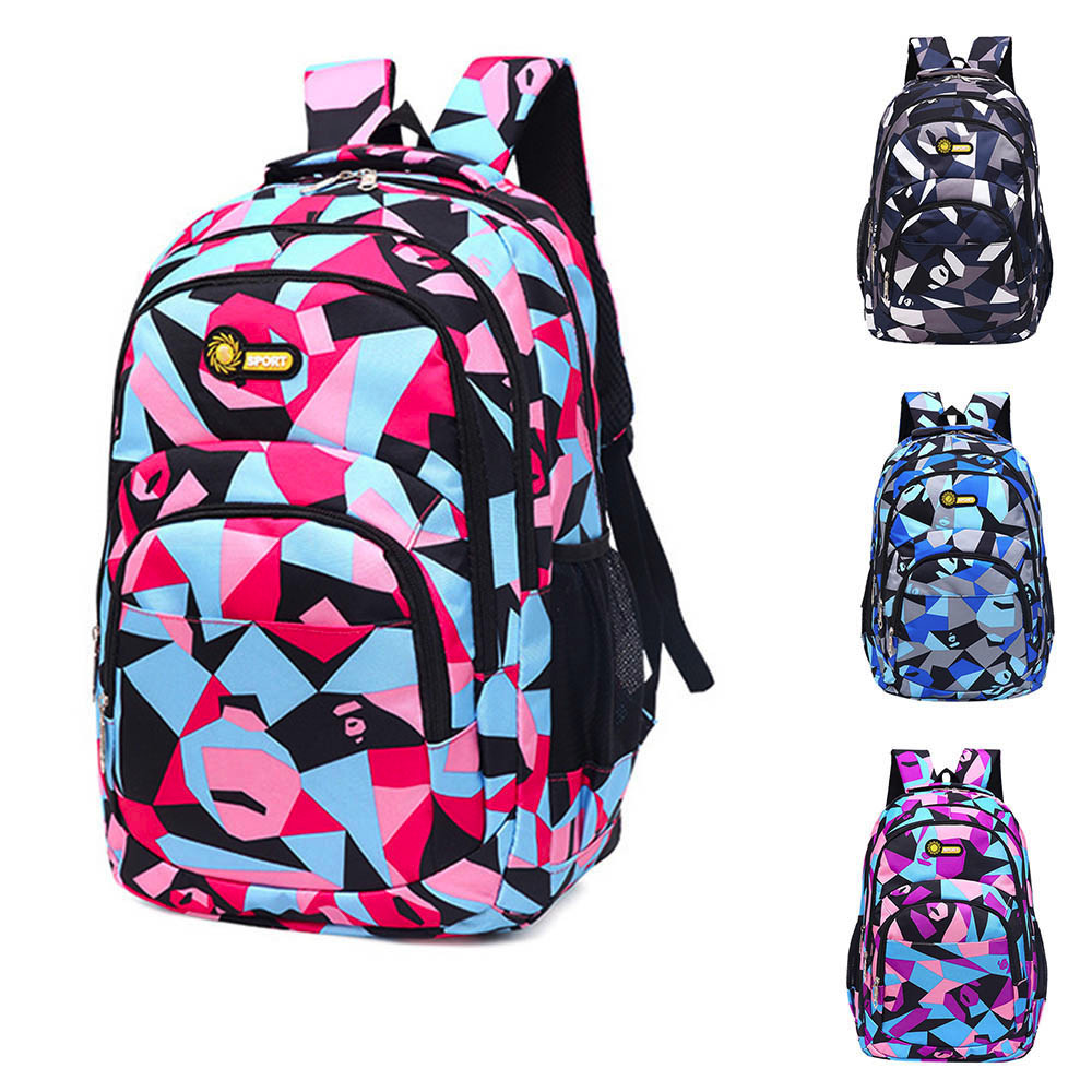 Preppy Style Backpack Teenage Girls Boys School Backpack Camouflage Printing Students Bags School Backpack For Teenage