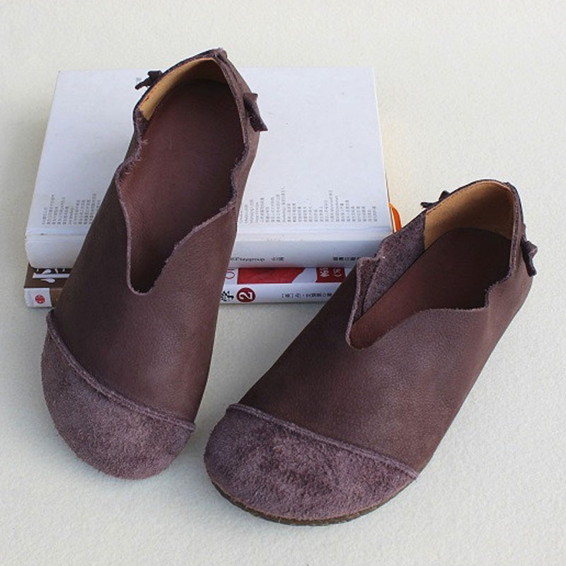 Women's Shoes Flat Slip on Loafers 100% Genuine Leather Ballerina Woman Shoes Summer Footwear (FY831) недорого
