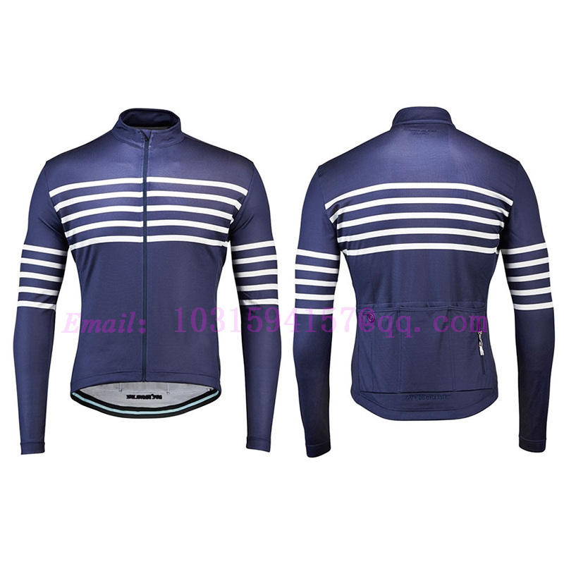 CAFE DU CYCLISTE thermal fleece custom winter long sleeve cycling jacket clothing bike maillot cycling jersey ciclismo bicicleta