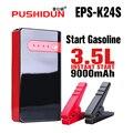 PUSHIDUN-Аварийный Пуск Зарядное Устройство для автомобильного аккумулятора Запуска Двигателя Скачок Стартер Банк силы Для 12 В автомобильное зарядное устройство Аккумулятор зарядное устройство