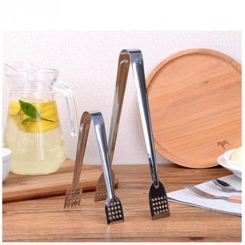 ステンレス鋼食品トングキッチン道具ビュッフェ調理ツール抗熱パンクリップ菓子クランプバーベキューキッチン鋼