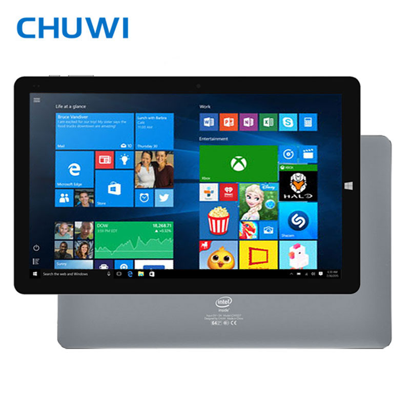 Original 10 1 Inch CHUWI HiBook Pro Dual OS Tablet PC Windows10 Android 5 1 Intel