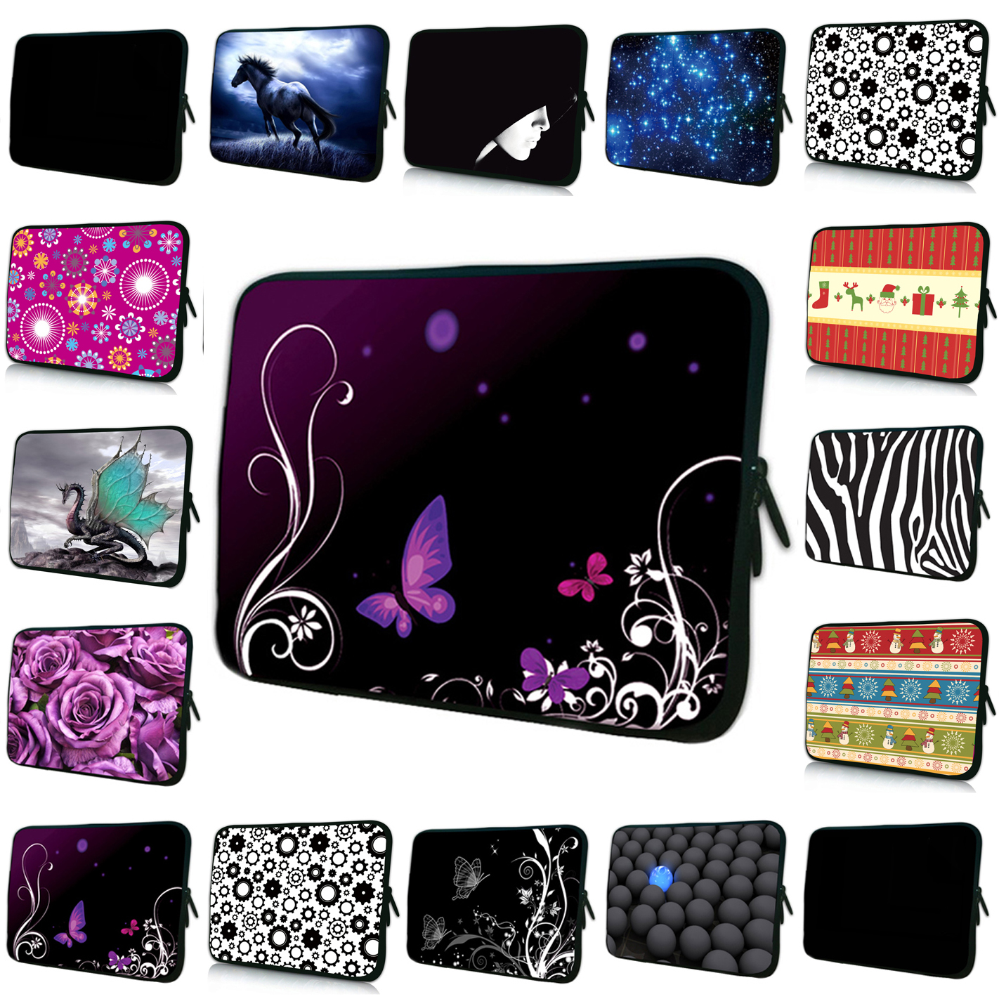 Unisex Sleeve Bag15 14 17 10 7 13 12 inch Tablet Laptop Device Ultra-Thin Bag Cases For 15.6 Dell Asus/15.5 Sony Vaio E Seriesse
