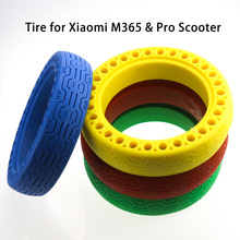8.5inch M365PRO Scooter Mix Color Tyre Solid Hollow Tires Shock Absorber Damping Rubber Tyres for Xiaomi Mijia M365 Scooter scooter tyre xiaomi mini scooter tyres 90 65 6 5 off road tubeless vacuum tyre tires for xiaomi mini pro balance scooter upgrade
