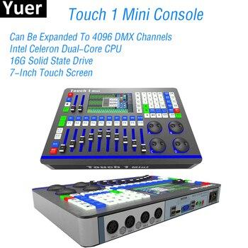 Новый сенсорный 1 мини DMX контроллер диджей оборудование диско консоль для Par движущаяся головка сценический эффект свет Вечеринка клуб све...